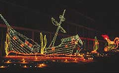 holiday lights at the beach boardwalk christmas lights
