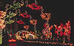 holiday lights at the beach boardwalk christmas lights virginia beach holiday lights